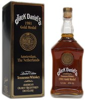 Jack Daniels 1981 Gold Medal 1l 43%