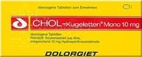 DOLORGIET Chol Kugeletten Mono 10 mg Tabletten überzogen (30 Stk.)