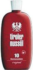 Tiroler Nussöl original Sonnenmilch LSF 10 (75 ml)