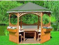 Promex Ersatzdach für Sechseck-Pavillon Palma