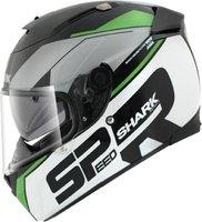 Shark Speed-R Sauer schwarz/grün/weiß