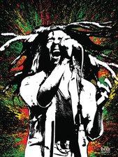 Bob Marley Leinwandbild
