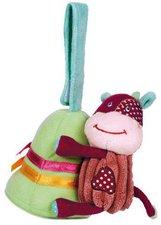Latitude Enfant Klettspielzeug Kuh mit Glocke