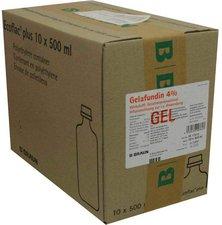 B. Braun Gelafundin 4% Ecoflac Plus Inf.-Lsg. (10 x 500 ml)