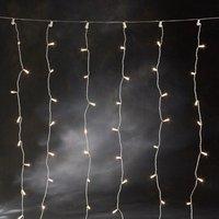 Konstsmide Microlight Lichtervorhang 160er klar (3704-003)