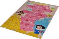Associated Weavers Kinderteppich Disney Princess Hopscotch 80 x 160 cm