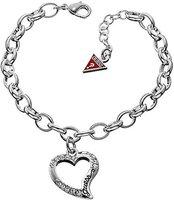 Guess Puffy Script Heart Armkette (UBB12907)