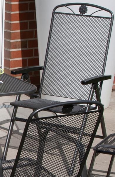 siena garden saseo klappsessel streckmetall preisvergleich ab 119 00. Black Bedroom Furniture Sets. Home Design Ideas