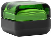 iittala Vitriini 60 x 60 mm grün/schwarz