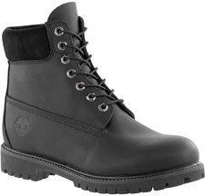 Timberland 6 Inch Premium Boot - Black Smooth 10054