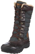 Timberland Women's Earthkeepers Mount Holly Duck Boot - Dark Brown/Green 21644