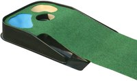 The Masters Golf Deluxe Putting Matte mit Hindernissen