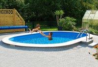 my pool Ovalpool »Premium« 26 m³, 737/360/120cm