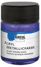 C. Kreul Hobby Line Acryl-Metallicfarbe 50 ml violett