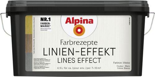 alpina farben farbrezepte linienspiel 4 5 liter g nstig kaufen. Black Bedroom Furniture Sets. Home Design Ideas