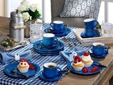 Friesland Ammerland Kaffee-Service 18 tlg. blue