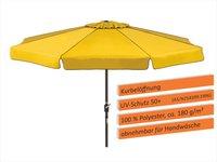 Schneider Schirme Amalfi Ø 300 cm gelb