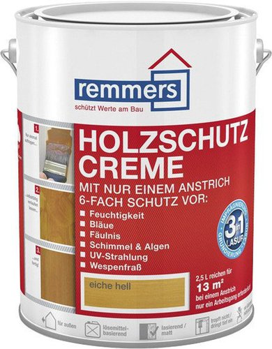 remmers aidol holzschutz creme eiche hell 5 liter g nstig kaufen. Black Bedroom Furniture Sets. Home Design Ideas