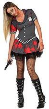Zombie Polizistin Halloween Kostüm
