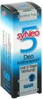 syNeo Man Deo-Antitranspirant mit 5 Tage Wirkung Roll-on (50 ml)