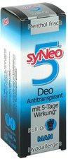 syNeo Man Deo-Antitranspirant mit 5 Tage Wirkung Roll-on (50 ml)