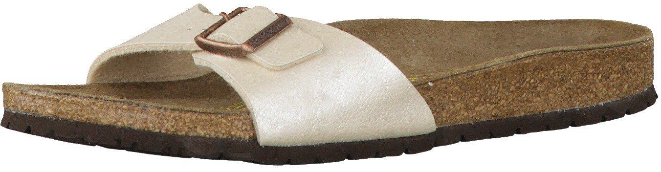 f1342ad98cc54d Birkenstock Madrid Birko Flor graceful pearlwhite günstig kaufen