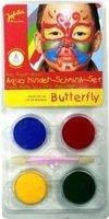 Jofrika Aqua Kinder-Schmink-Set Butterfly
