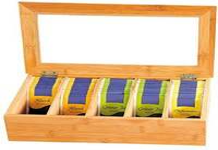 Kesper Tee-Box mit 5 Fächern
