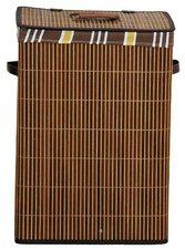Kesper Wäschetruhe aus Bambus (eckig)