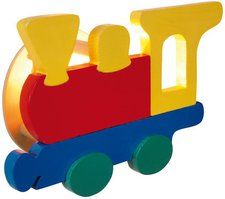 Näve Kinder-Wandleuchte Dampflok