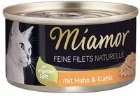 Miamor Feine Filets Huhn & Kürbis (80 g)
