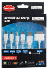 Hähnel Universal USB Charge Cable 5 in 1
