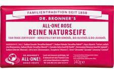 Dr. Bronner's Reine Naturseife Rose (140 g)