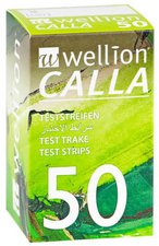 1001 Artikel Medical Wellion Calla Blutzucker Teststreifen (50 Stk.)