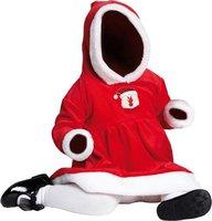 Rubies Kleinkind-Kostüm Miss Santa