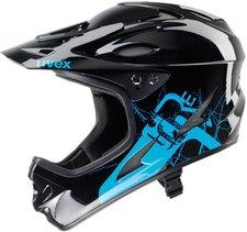 Uvex HLMT 9 Bike schwarz-blau glänzend