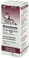 Krewel Bromhexin Tropfen 12 mg / ml
