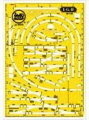 LGB Gleisschablone (10015)