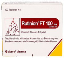 biomo Rutinion FT 100 mg Tabletten (100 Stk.)