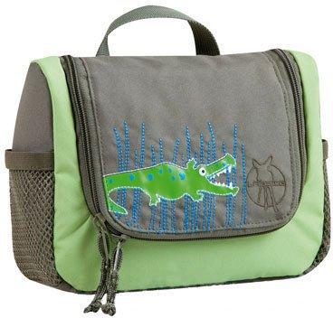 Lässig 4Kids Wash Bag Crocodile