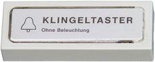 Kopp Klingelplatte Kunststoff, weiß (205201022)