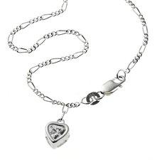 ZEEme Silberfußkette Herzchen (299200020)
