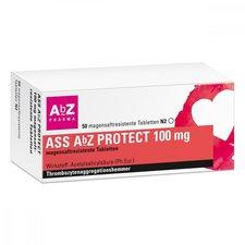 AbZ ASS Abz Protect 100 mg magensaftresist. Tabletten (50 Stk.)