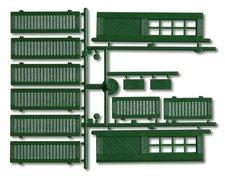 Faller Pola Fensterläden und Türen Grün (333112)