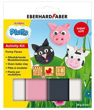 Eberhard Faber Pluffy Activity Kit Funny Faces