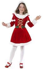 Smiffys Kinderkostüm Little Miss Santa
