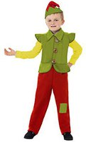 Smiffys Kinderkostüm Weihnachtself Anzug