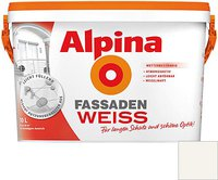 Alpina Farben FassadenWeiss 10 Liter