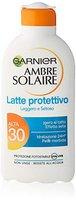 Garnier Ambre Solaire Light & Silky LSF 30, 200 ml