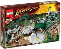 LEGO 7626 Indiana Jones Dschungelfräser